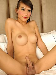 Asian Shemale in Bra and knickers