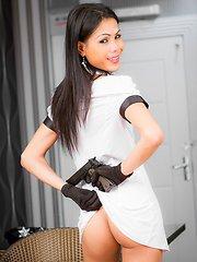 Nadia Pantiless Police