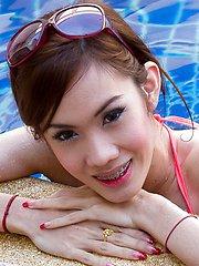 A Poolside Princess