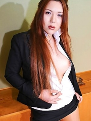 Mana Sakuragawa is a famous AV actress from Osaka. She is a gorgeous, unconventional-looking girl with big breasts, curvy waist-line and very cute tin