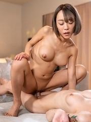 Chulin Nakazawa Threesome Shemale Fuck with Japanese Slave Girl