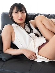 Kaoru Hanayama New Sexy and Hot Japanese Ladyboy Model posing in lingerie